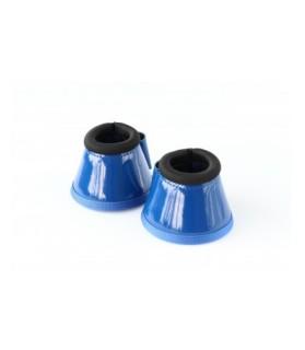 Cloches néoprènes laquées - bleu roi - la halle aux minis