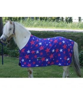 Chemise polaire star - bleu - la halle aux minis