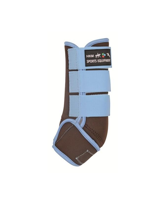 2749_1212_guetres-neoprenes_Turquoise_marron_la-halle-aux-minis