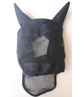 Masque anti-mouche noir - mini shet - la halle aux minis