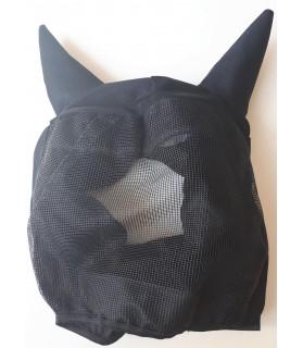 Masque anti-mouche noir - mini shet - sans bout de nez-  la halle aux minis