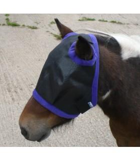 Masque anti-mouche - noir -   shetland - la halle aux minis