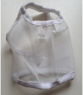 masque anti-mouche - blanc- cheval miniature - la halle aux minis